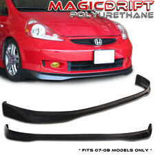 Made for 07-08 Honda FIT TR Type-R Style Front Bumper Lip Spoiler Poly-Urethane