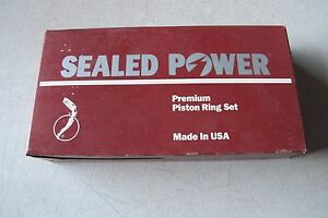 Sealed Power Engine Piston Ring Set fit DODGE-CHYSLER 440 ENG 74-78 (9400KX060)