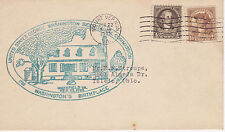 POSTAL HISTORY -1932 GEORGE WASHINGTON BICENTENNIAL - BIRTHPLACE WAKEFIELD, VA