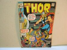 The Mighty Thor 181 Oct Marvel Comics Vintage Comic Book  T*