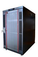 "Sysracks 18U 35"" Deep 19"" IT Free Standing Server Rack Cabinet Enclosure Shelf"