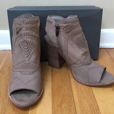 cbde492c16 New ListingVINCE CAMUTO 'Karinta' Leather Western Peep Toe Bootie Sandal -  Size 10M NEW