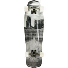 """Aluminati Skateboards 8.12"""" Desert Mullet Cruiser Complete Skateboard"""