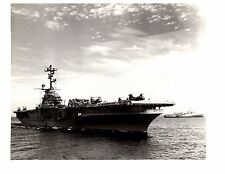 USS Valley Forge CV-45 Aircraft Carrier thomaston  Navy Ship Official Photo 8x10