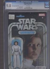 Star Wars Princess Leia 1 Action Figure Variant CGC 9.8 DC New 52