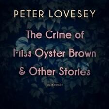The Crime of Miss Oyster Brown & Other Stories by Peter Lovesey SEALED (2019)