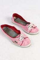 Lacoste Slip On Cool Casual Shoes Daily Sneakers No Fastening Pink UK 5 S244