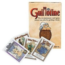 Guillotine Card Game - Get A Head! Wizards Of The Coast WOC 21888 Family Party