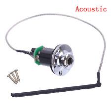 Acoustic Guitar Piezo Pickup Under Saddle Output End Pin Jack