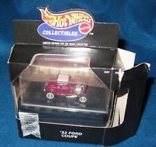 1:64 Hot Wheels Le 1932 '32 Ford 5 Window Coupe Street Rod Purple Mooneyes w/Box