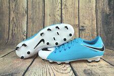 cc889681f Nike Hypervenom Phelon III FG Soccer Cleats White Blue 852556-104 Mens Size  10.5