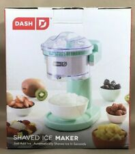 Dash Shaved Ice Maker With Recipe Guide And Stainless Steel Blades Brand New
