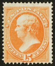 "US Sc# 163 *MINT NO GUM* { 15c YELLOW ORANGE WEBSTER } ""SCARCE 1867 CV$ 1,050.00"