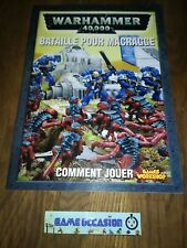WARHAMMER 40,000 BATTLE FOR MACRAGGE COMMENT PLAY GUIDE GAMES