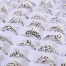 10pcs Wholesale Korean Mixed Lots Jewelry Finger Band Tail Ring Women's Rings