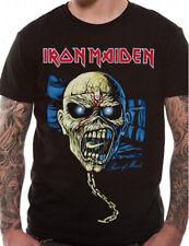 Official Iron Maiden T Shirt Piece Of Mind Skull New Eddie Head L XL XXL