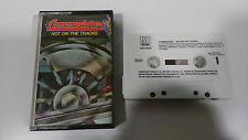 COMMODORES HOT ON THE TRACKS CASSETTE TAPE CINTA MOTOWN SPANISH EDITION 1976
