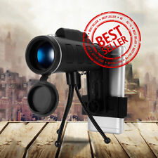 40X60 HAWK EYE V2 SCOPE WITH COMPASS Night Vision Monocular Zoom  For Phone