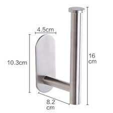 Self-Adhesive Wall Mounted Paper Roll Towel Holder Kitchen Storage