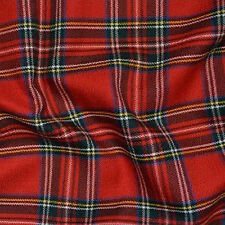 FAT QUARTERS SQUARES TARTAN PLAID PER HALF OR FULL METRE HOBBY CRAFTS QUILTING
