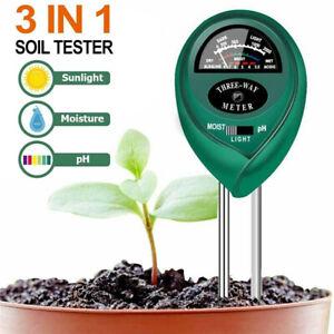 3 Way Garden Plants Soil PH Meter Soil Hygrometer Moisture PH Value Detector