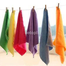 5/10Pcs Lot Mixed Color Microfiber Car Cleaning Towel Kitchen Washing Polish Set