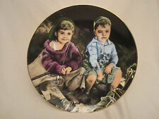 Roughin' It collector plate The Little Rascals Rare only 10 firing days Spanky
