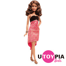 Barbie® Fashionistas® Doll no.24 - Crazy For Coral - Petite [DGY54/DMF26]