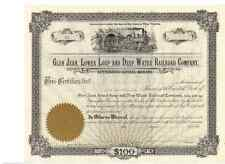 Glen Jean, Lower Loup and Deep Water Railroad Company