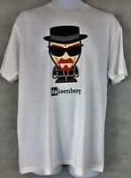 Breaking Bad Mens T-Shirt New Walter White Heisenberg Cartoon Officially License