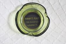 Vintage Tommy's Place 13th Anniversary ACL Ashtray Lehighton, PA-BL