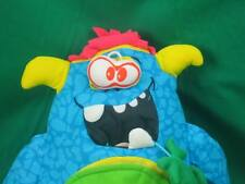 ED KAPLAN DRAW PAINT ME YELLOW HORN BLUE DOLL DOODLE MONSTER PLUSH STUFFED TOY