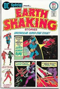 DC Special #18, DC 1975 Earth Shaking Stories Boring, Kane, Beck NM
