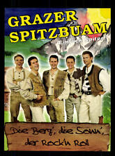 Grazer Spitzbuam Autogrammkarte Original Signiert ## BC 95867