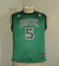 Youth Boys ADIDAS Boston CELTICS Kevin GARNETT #5 Basketball Jersey Large 14-16