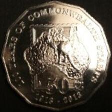 """** 2013 Australian """"Centenary of Australian Stamps"""" 50 cent Specimen Coin**"""