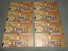 Eight 1967 Olds 4-4-2 Cutlass 88 98 Toronado Catalogs / Brochures $5.99 Postpaid