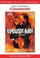 Carte Gaumont Épouse moi (Vincent Perez, Michèle Laroque)