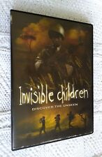 INVISIBLE CHILDREN- DISCOVER THE UNSEEN, R-1, LIKE NEW, FREE POST IN AUSTRALIA