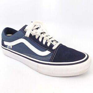 Vans Old Skool Pro Canvas Men Shoes Size 10.5 EU 44 AL6954