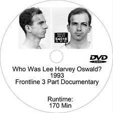 Who Was Lee Harvey Oswald Frontline 3 Part Documentary Dvd