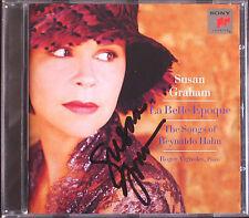 Susan Graham firmato Reynaldo Hahn la bella epoque Phyllis le Rossignol maggio CD