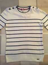 Ness Maryfield stripe jumper - Navy and Cream - XS - New with Tags RRP £34.99