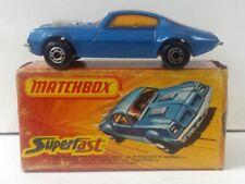 70´s Rare Matchbox Pontiac Firebird with Box Inbrima - BRAZIL!