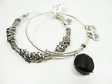 ALEX and ANI Exclusive for NORDSTROM Rafaelian Silver Set of Two Wrap Bracelets