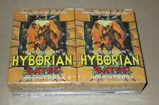 Hyborian Gates Limited Edition: 2 Starters Boxes total 110 Cards SEALED