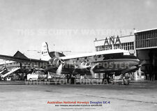 ANA DOUGLAS DC-4 ESSENDON AERODROME DC4 A3 POSTER PRINT PICTURE PHOTO IMAGE
