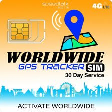 Gps Tracker Worldwide Sim Card Compatible with 4G Tracking Devices Locators