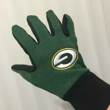 Green Bay Packers Two Toned Team Colors Sport Utility Gloves Winter Summer NFL