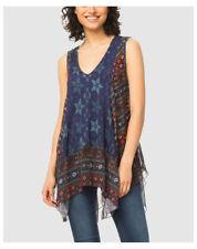 Maglie e camicie da donna multicolore con scollo a v taglia M